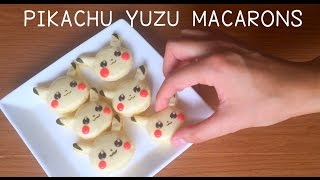 Hi everyone, I am back with a Pokemon Go Pikachu yuzu macaron recip...