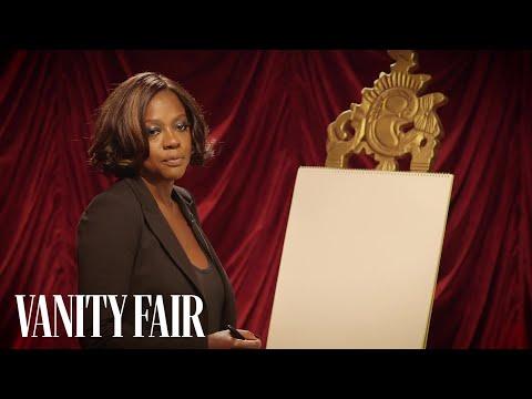 Viola Davis Can Draw You a Clown   Secret Talent Theatre   Vanity Fair