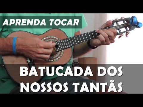 Música Simples Para Cavaquinho | Batucada dos Nossos Tantãs - Fundo de Quintal | Prof Damiro