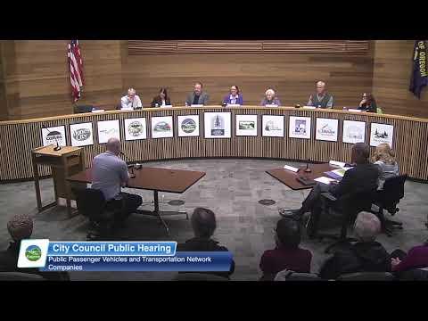 Eugene City Council Public Hearing: April 16, 2018