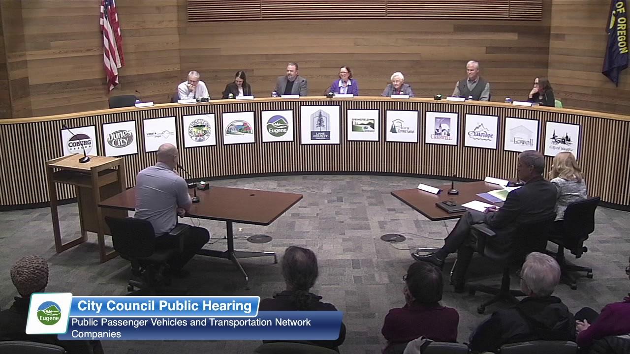Download Eugene City Council Public Hearing: April 16, 2018