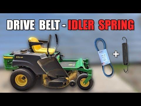 John Deere Z245 - Drive Belt Replacement