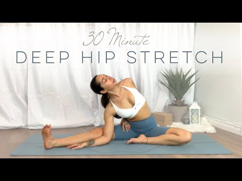 Yin Yoga For Hip Flexibility | Intermediate Yoga | 30 Minute Yoga