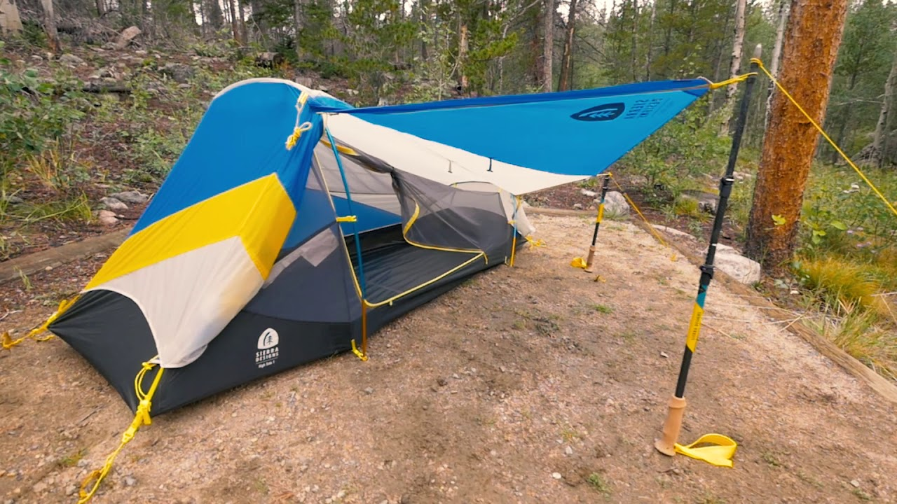 Sierra Designs - High Side Tent & Sierra Designs - High Side Tent - YouTube