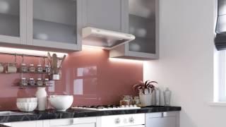 Кухонна витяжка ELEYUS LINE - відео огляд плоскої витяжки.