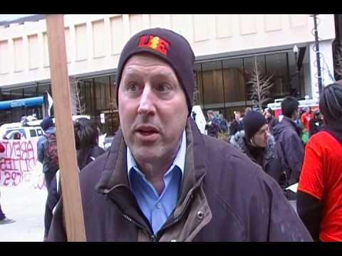 Chicago School Closings: Citizen Activist interview...the Union guy.