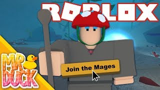 Roblox Vesteria Alpha - I JOINED THE MAGE FACTION!
