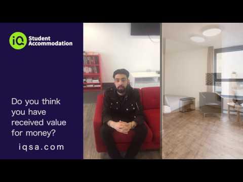 University of Westminster student reviews iQ Raffles House
