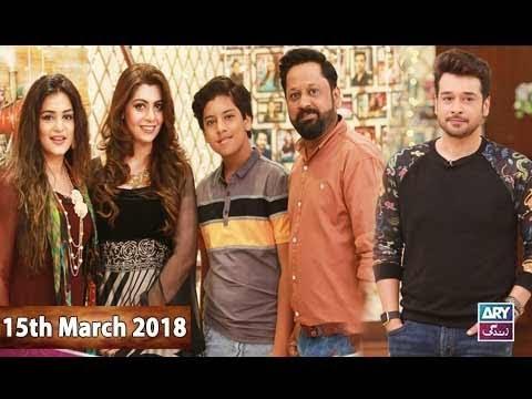 Salam Zindagi With Faysal Qureshi - 15th March 2018 - ARY Zindagi Drama
