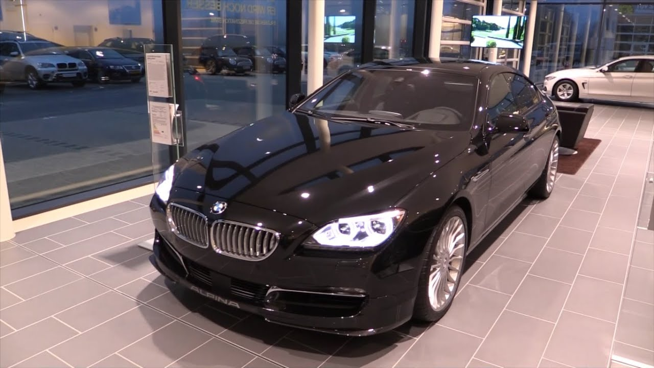 Bmw M6 Gran Coupe >> BMW ALPINA B6 Biturbo Gran Coupe 2016 Start Up In Depth ...