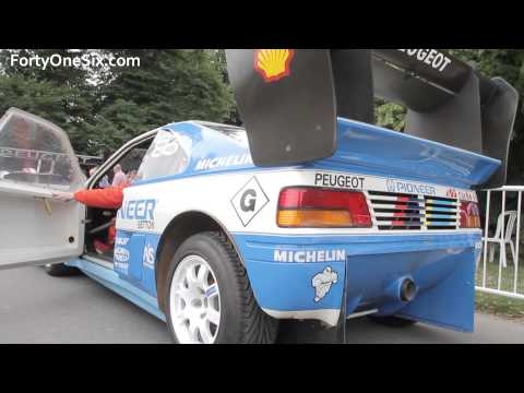 Peugeot 405 T16 Pikes Peak - Festival of Speed 2013