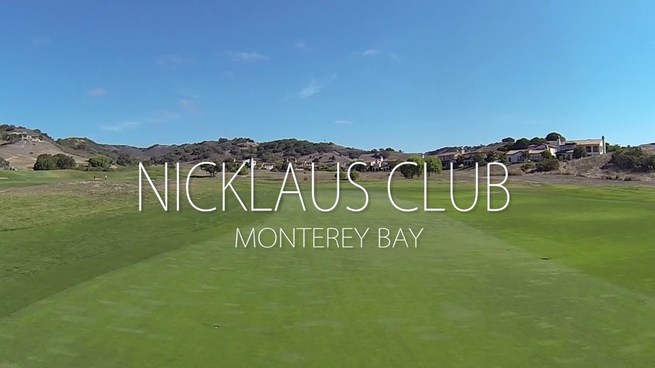 Nicklaus Golf Club Monterey CA Course Drone Aerial View