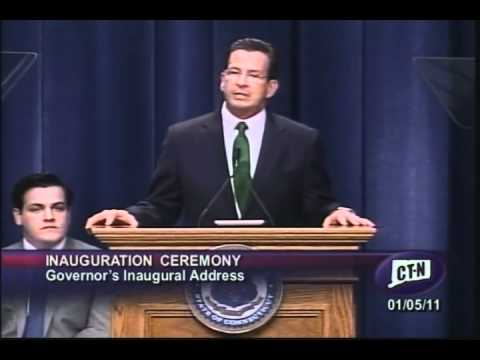 Governor Dannel P. Malloy 2011 Inauguration Speech