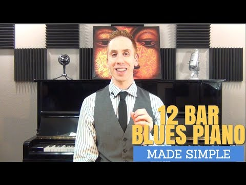 12 Bar Blues Piano Made Simple