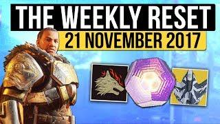 Destiny 2 | IRON BANNER RETURNS! - Weekly Reset, Challenges, Nightfall & Eververse! (21st November) thumbnail