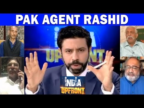 J&K MLA Engineer Rashid received funds from Pakistan's ISI? - India Upfront With Rahul Shivshankar