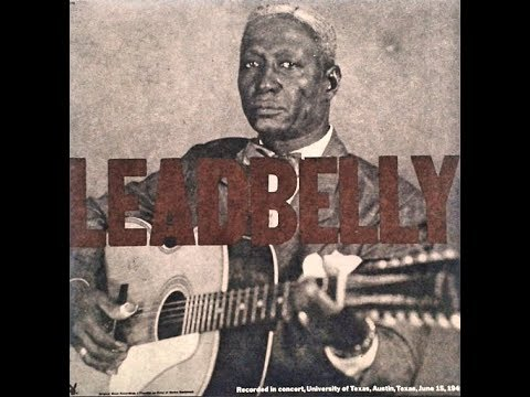 Leadbelly Recorded in Concert, Austin,1949  [Full Album/Vinyl]
