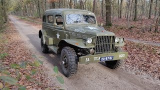 1942 Dodge WC-53 Carryall | Short ride + drive-by