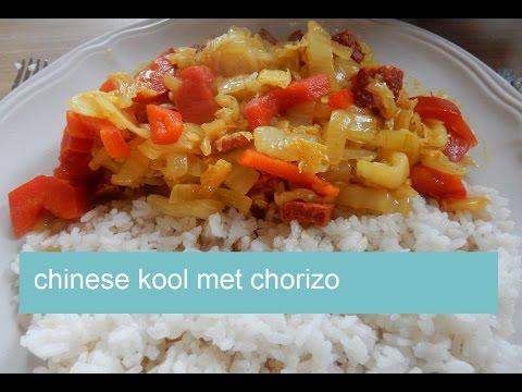 chinese kool met chorizo | over koken gesproken - youtube
