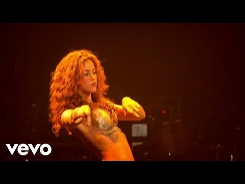 Shakira - Whenever, Wherever (live video edit)