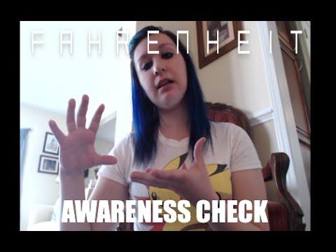 Awareness Check: Fahrenheit