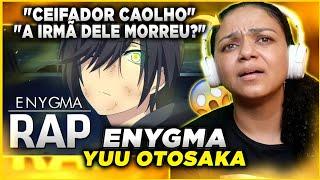 MINHA MÃE REAGE AO Rap do Yuu Otosaka (Charlotte) | O Ceifador Caolho | Enygma 64