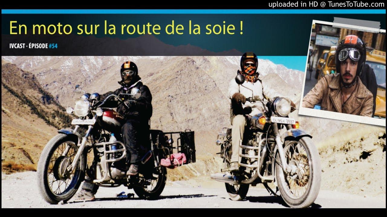 sur la moto