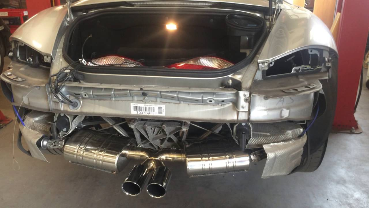 Porsche Boxster Sports Exhaust Sound Difference Amazing
