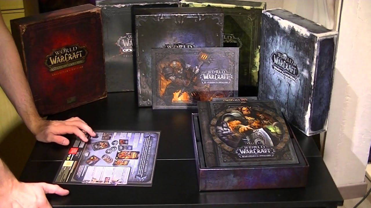 [ Unboxing ] World Of Warcraft Warlords Of Draenor[ FR ...