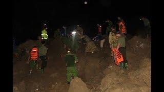 Sạt lở chôn vùi 18 người trong đêm: Đã tìm thấy 8 tử thi