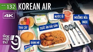 First time to fly Korean Air to Seoul, order seafood meal