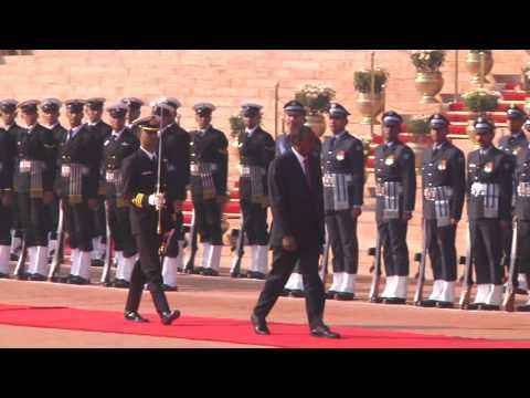 Ceremonial Reception President of the Republic of Kenya - 11-01-2017