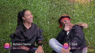 Sire from the Rap Game Season 5 interviews with Aman Magazine