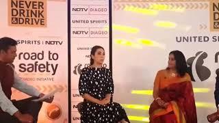 Karishma Kapoor at NDTV Road to Safety Campaign