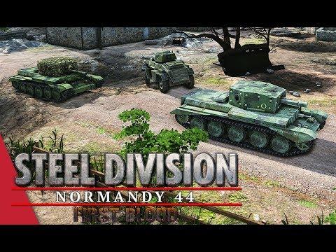 5th APT Round 1! Steel Division: Normandy 44 - Tarsh IV vs Jarl Conrad (Pegasus Bridge, 1v1)