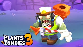 Plants vs. Zombies 3 - Gameplay Walkthrough Part 29 - Crossing Guard Bank Zombie (Floor 31)