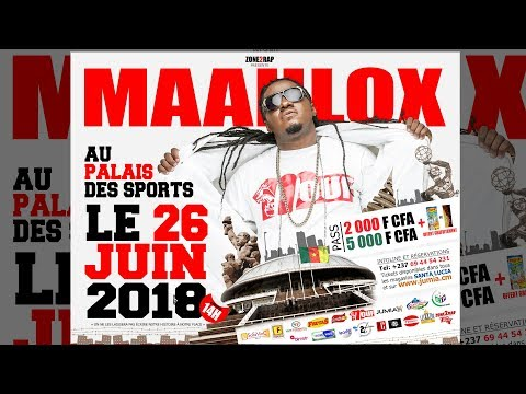 MAAHLOX- spot officiel concert PAPOSY