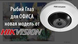Hikvision DS 2CD2935FWD IS - Новая фишай (fish-eye) IP камера наблюдения
