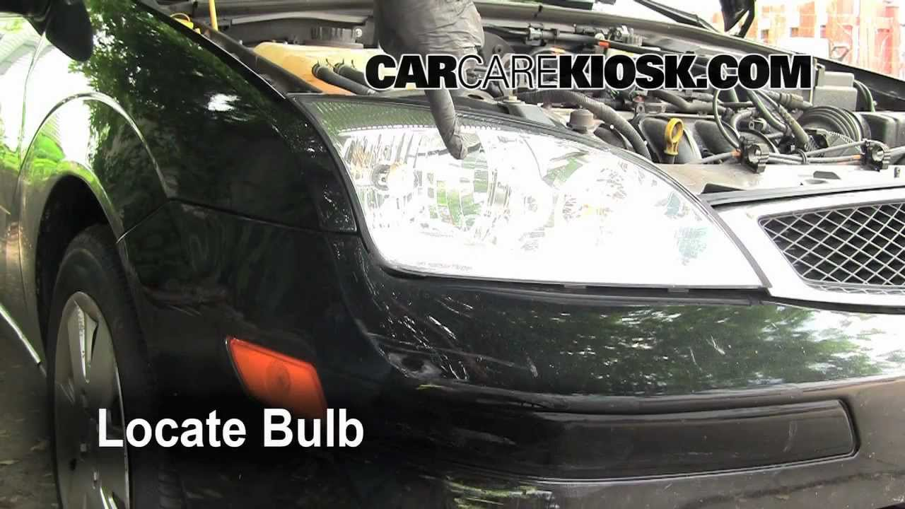 How To Change The Headlight Turn Signal And Parking