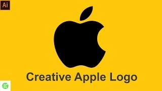 Gambar cover Apple Logo Design in Illustrator in Hindi/Urdu