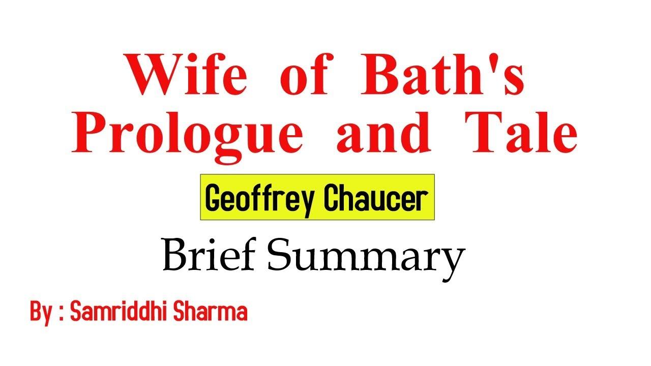 geoffrey chaucer life summary