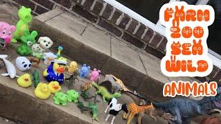 ANIMALS TOY COLLECTION (FARM ZOO SEA & WILD ANIMALS)