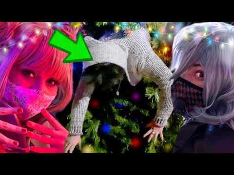 DABI'S STUCK IN A CHRISTMAS TREE | Cosplay Outing | My Hero [Villain] Academia Cosplay