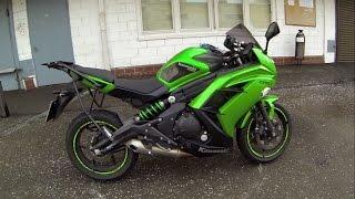 Осмотр мотоцикла перед покупкой Kawasaki ER 6