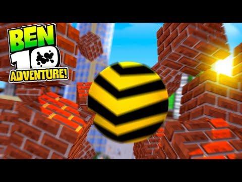 Minecraft Ben 10 Adventure - CANONBOLT WRECKS THINGS! W/TinyTurtle