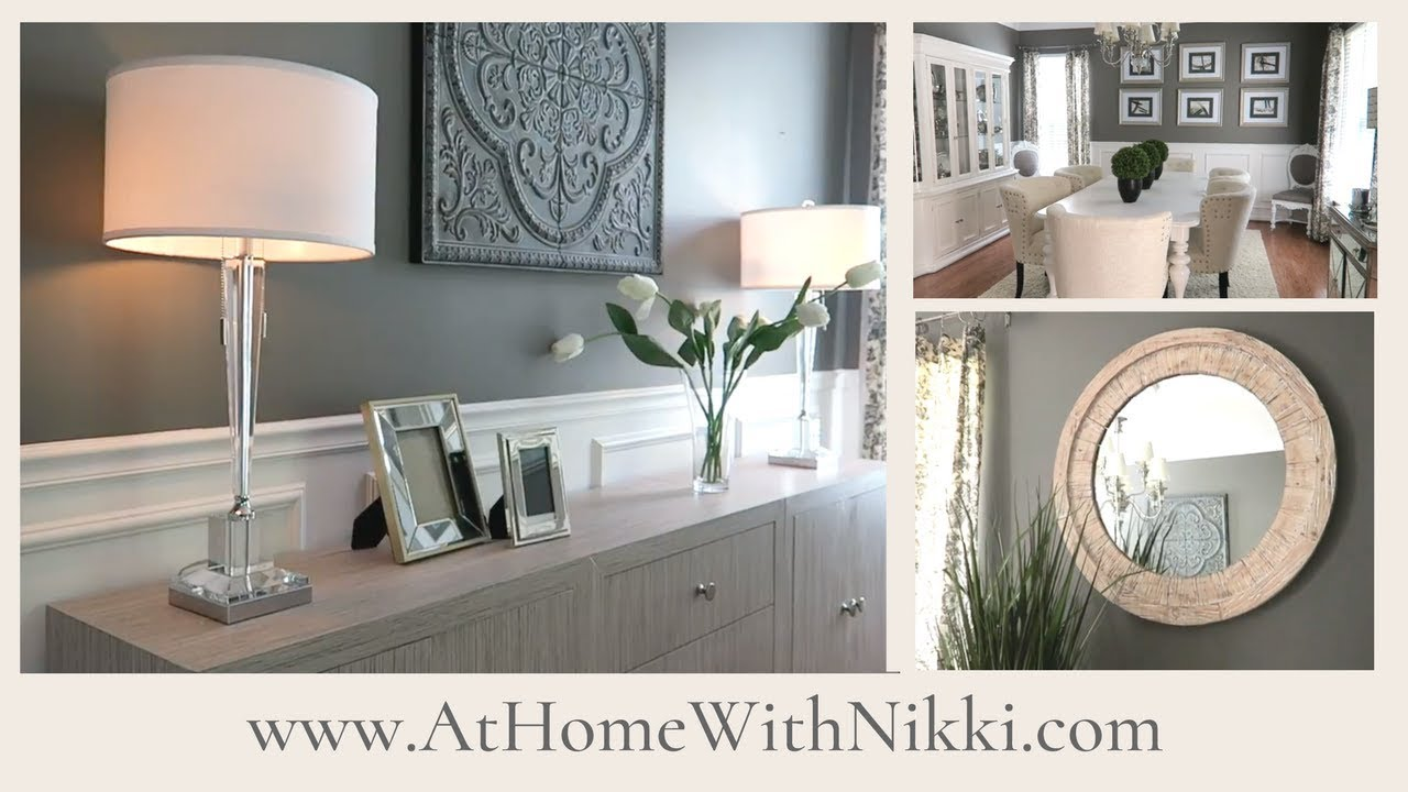 Home Decor Dining Room Refresh Youtube