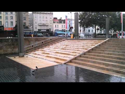 Water Steps to Floating Harbour St Augustines Parade in Bristol