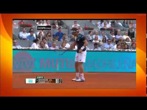David Ferrer vs Kei Nishikori