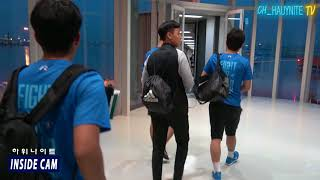 [더 스카웃 + 하위나이트] 하위나이트 - All Stars in  Thailand 1일차 출국 현장