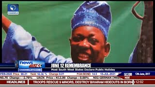 June 12 Remembrance: Most South West States Declare Public Holiday